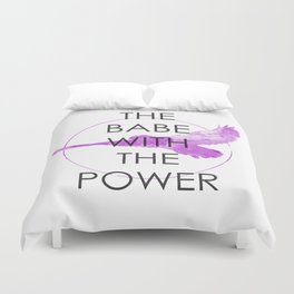 The Babe With The Power (Labyrinth) Duvet Cover