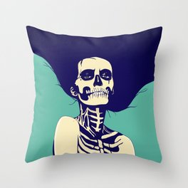 Día de las Muertas Throw Pillow
