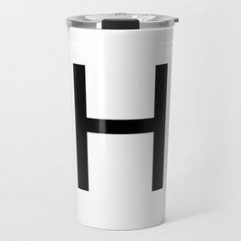Capital H Travel Mug
