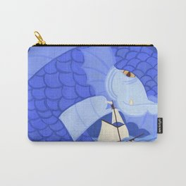 A Friendly Sea Monster Carry-All Pouch