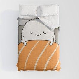 sleepy sushi Comforters
