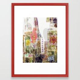 Impressions of Chinatown - San Francisco #3 - Mark Gould Framed Art Print
