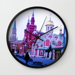 The color of the infrastructure of this city. Wall Clock