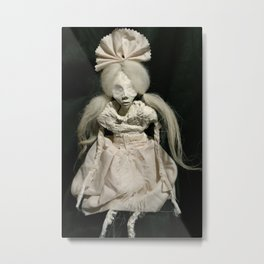 art doll, tabula rasa Metal Print