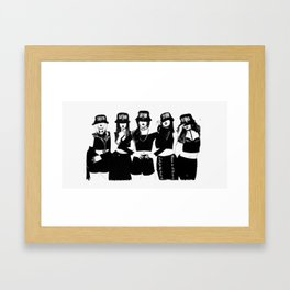 4minute Framed Art Print