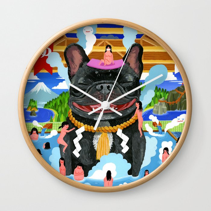 """Super Sento"" Wall Clock"