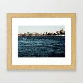 Green Buoys Framed Art Print