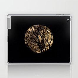 Full Moon though the trees Laptop & iPad Skin