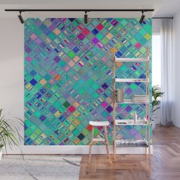 Re-Created  Mosaic No. FOURTEEN by Robert S. Lee Wall Mural
