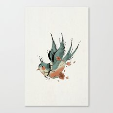 Swallow  Canvas Print