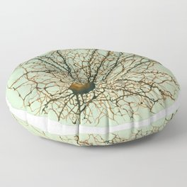 Neuron Watercolour Floor Pillow