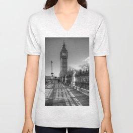 Big Ben, London Unisex V-Neck