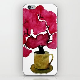 Cherry blossom Tree in Mug iPhone Skin