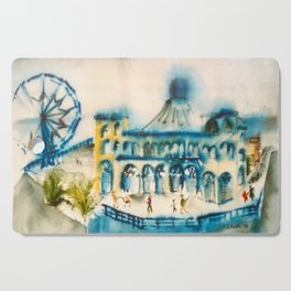 Santa Monica Pier Cutting Board