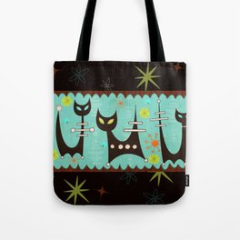 Atomic Cats Tote Bag