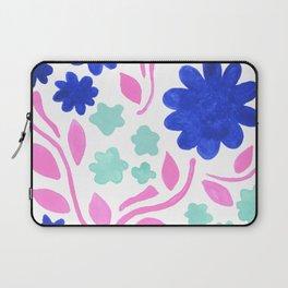 Cool Folk Floral Laptop Sleeve