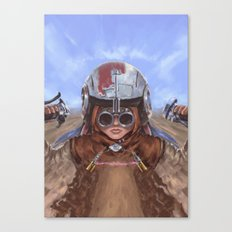 SW Hero Pilot: Anakin Canvas Print