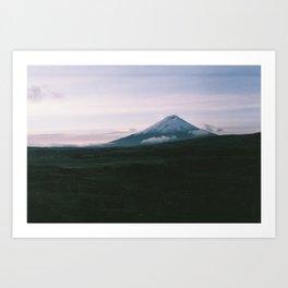 Volcán Cotopaxi Art Print