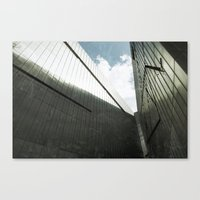 jewish Canvas Prints featuring Jewish Museum Berlin by Martin Llado