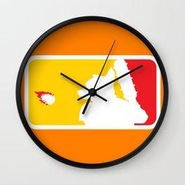 Major League Whack-Bat Wall Clock