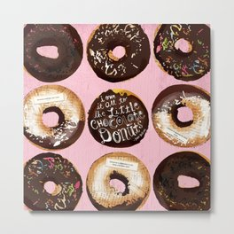 The Little Chocolate Donuts Metal Print