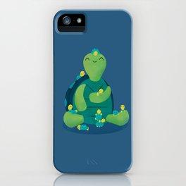 Turtle Mama iPhone Case