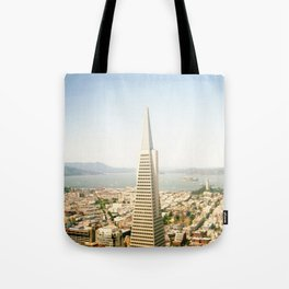 Transamerica Pyramid, San Francisco Tote Bag