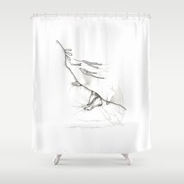 Late Morning Shower Curtain