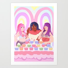 California Gurls Art Print