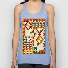 Playing puzzle Unisex Tank Top