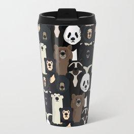 Bears of the world pattern Travel Mug
