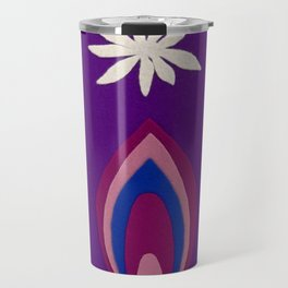 de Flower [purple] Travel Mug