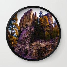 Colorful filter boulder  Wall Clock