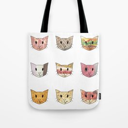 Food & Cats Tote Bag