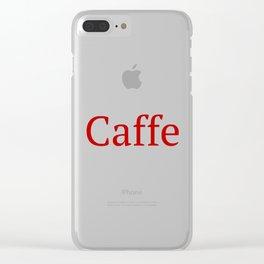 Caffe - Deep Learning Framework Clear iPhone Case