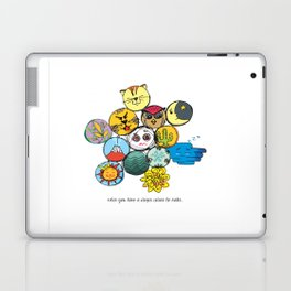 Dozen Full of Ideas Laptop & iPad Skin