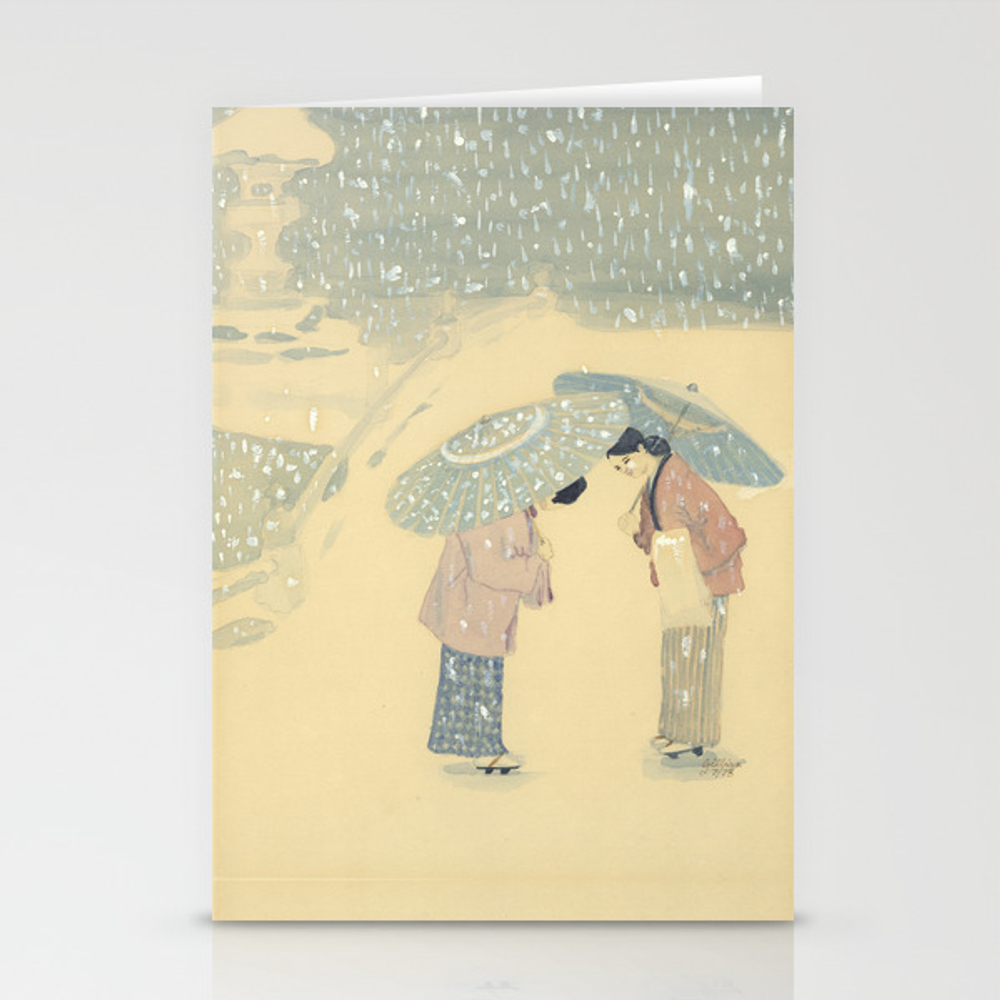 Parasols Stationery Cards by Gmld (CRD9398091) photo