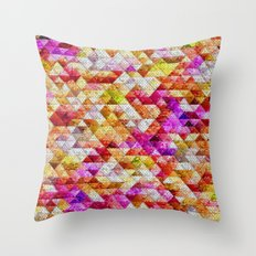 Pebble Rocks Throw Pillow