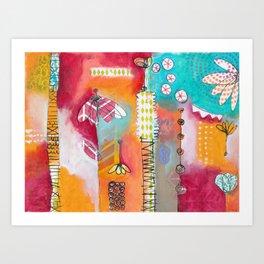Inez Art Print