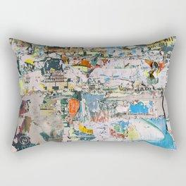 Street collage 1 Rectangular Pillow