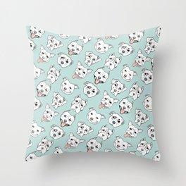 Pittie Pittie Please! 3 Throw Pillow
