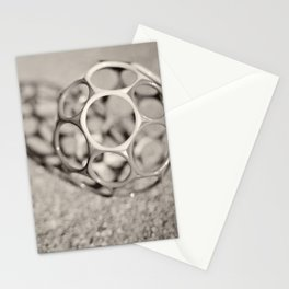 Sphere, circle, shadow Stationery Cards