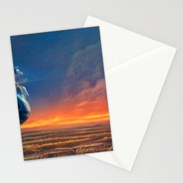 Life on Titan Stationery Cards