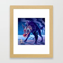 Amarok Framed Art Print
