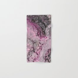 """""""Epiphany in Pink"""" by Angelique G. Hand & Bath Towel"""