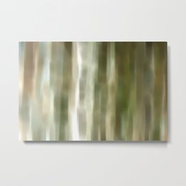 light breaks in Metal Print