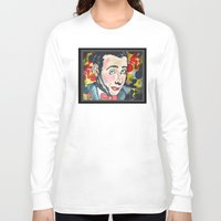 pee wee Long Sleeve T-shirts featuring Pee Wee by Portraits on the Periphery