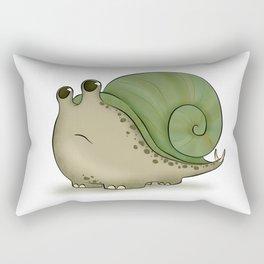 Snailasaurus Rectangular Pillow