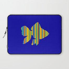 Goldfish Stripes Laptop Sleeve