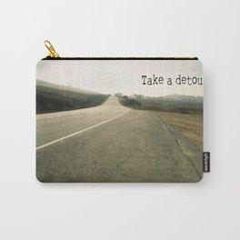 Take A Detour Carry-All Pouch